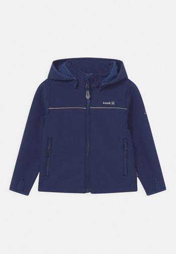 JARVIS UNISEX - Soft shell jacket - dunkelblau
