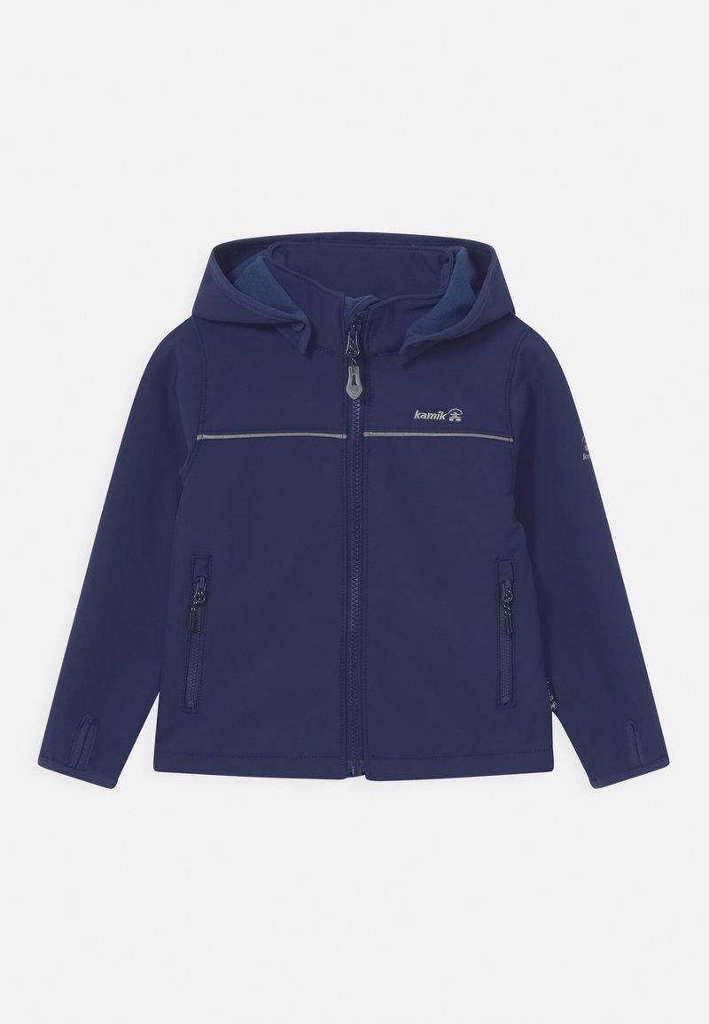 Kamik - JARVIS UNISEX - Soft shell jacket - dunkelblau