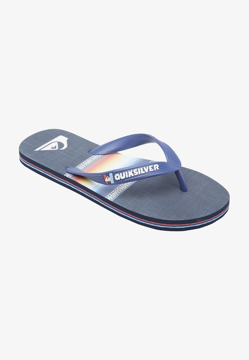 Quiksilver - T-bar sandals - blue/blue/black