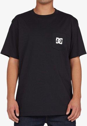 STAR POCKET  - T-shirt print - black