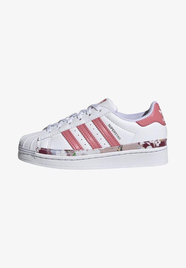 SUPERSTAR SHOES - Sneaker low - ftwr white/hazy rose/hazy rose