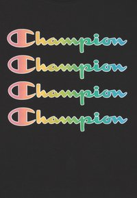 Champion - COLOR LOGO CREWNECK - Camiseta estampada - black - 2