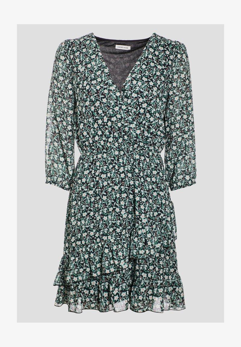Cache Cache - Robe d'été - noir