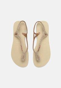 Havaianas - LUNA PREMIUM - Pool shoes - sand grey - 0