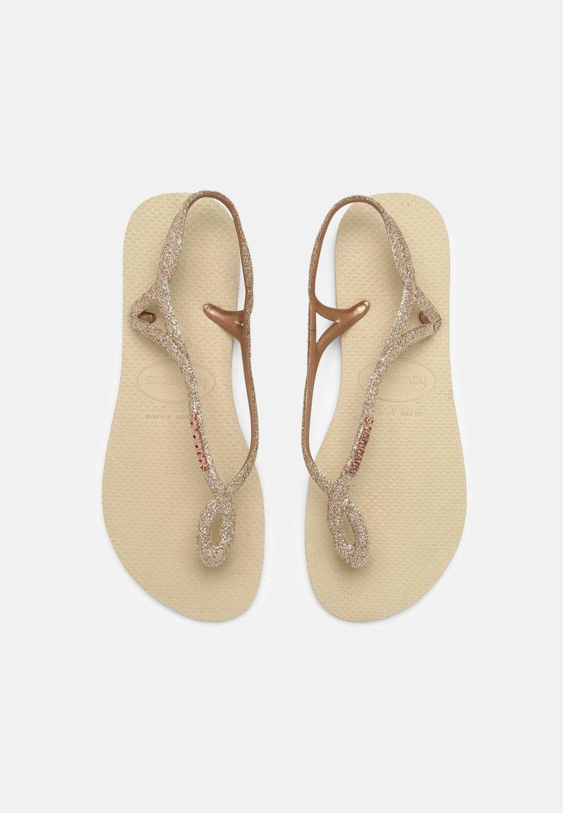 Havaianas - LUNA PREMIUM - Pool shoes - sand grey