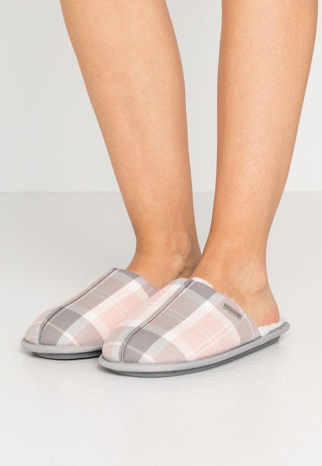 MADDIE - Pantofole - pink/grey