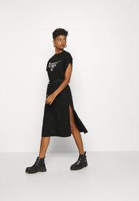 Diesel - D-FLIX-C DRESS - Jersey dress - black - 1