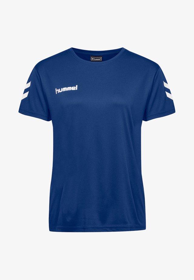 Print T-shirt - true blue