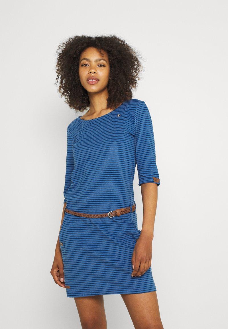 Ragwear - TANYA - Jersey dress - blue