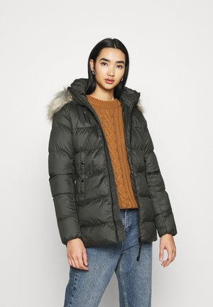 WHISTLER COAT - Zimní kabát - asfalt