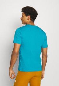 Helly Hansen - LOGO - Print T-shirt - caribbean sea - 2