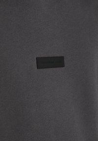 Abercrombie & Fitch - PATCH PERFECT - Jersey con capucha - asphalt - 5