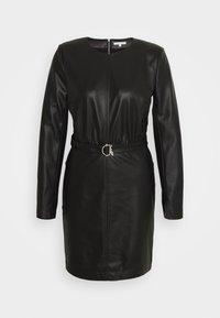 Patrizia Pepe - ABITO DRESS - Shift dress - nero - 0