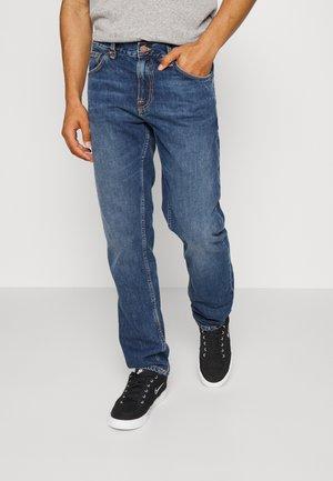 GRITTY JACKSON - Jeansy Straight Leg - blue slate