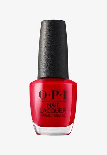 NAIL LACQUER - Nail polish - nln 25 big apple red