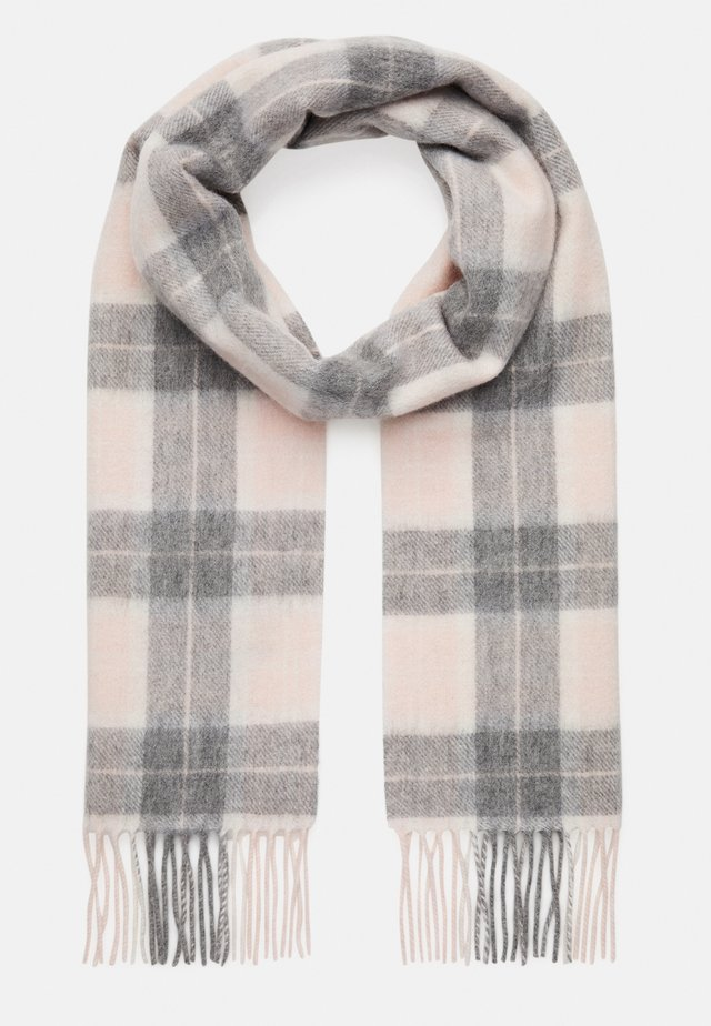 SET - Šála - pink/grey tartan