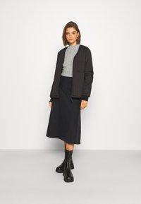 Even&Odd - SOFT CROPPED JUMPER - Pullover - mottled grey - 1