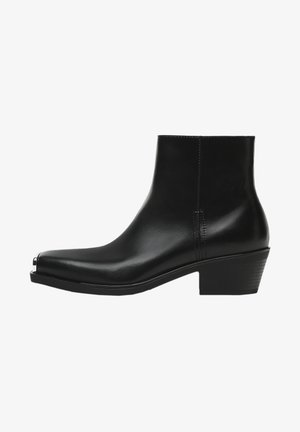 METAL TOE CAP DETAILING - Classic ankle boots - black