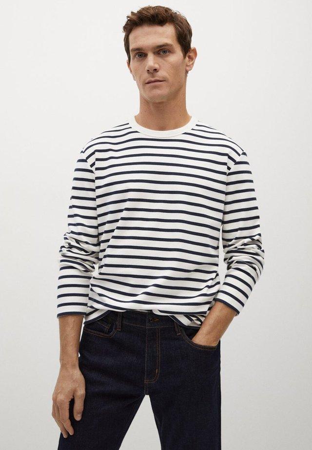 MARINIER - T-shirt à manches longues - cremeweiß