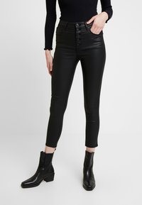 Abercrombie & Fitch - ANKLE - Trousers - black - 0