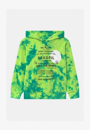 SMOONY OVER UNISEX - Sweatshirt - lime fluo