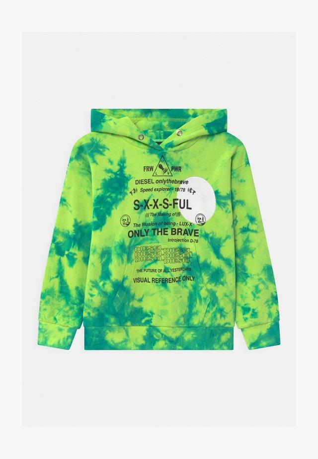 SMOONY OVER UNISEX - Sweatshirt - lime fluo