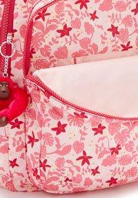 Kipling - SEOUL - Rucksack - pink leaves - 5