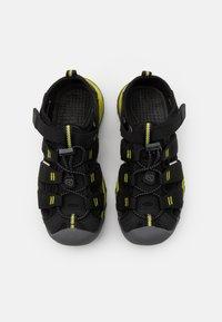 Keen - NEWPORT NEO H2 UNISEX - Walking sandals - black/evening primrose - 3
