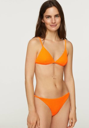 FLUORESCENT STRAPPY CLASSIC BRIEFS - Bikini bottoms - orange