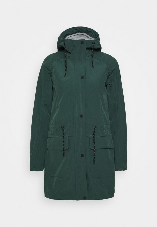MIRJA - Soft shell jacket - foresta green