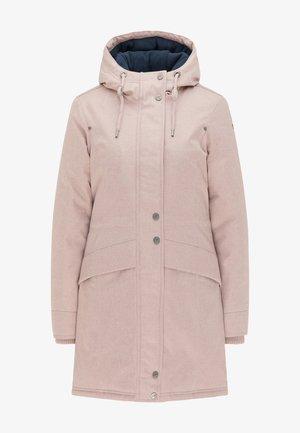 Płaszcz zimowy - nude melange