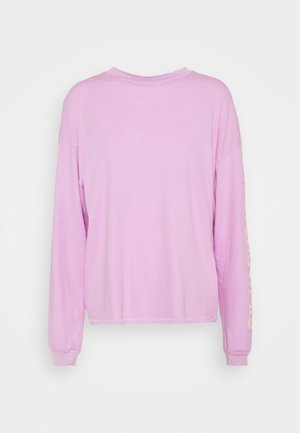 SURFADELIC LONG TEE - Long sleeved top - lit up lilac