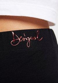 Desigual - PORTRAIT - Leggings - Trousers - black - 5