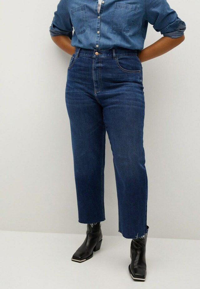 Jeans a sigaretta - dunkelblau