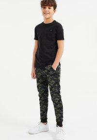 WE Fashion - Træningsbukser - army green - 0