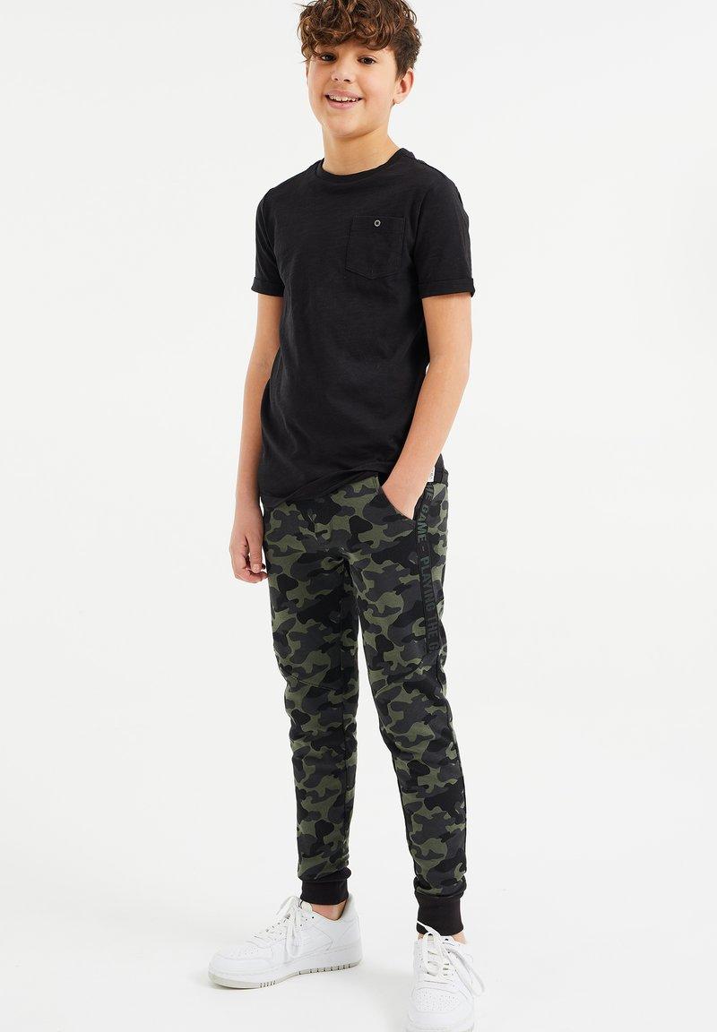 WE Fashion - Træningsbukser - army green