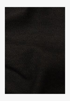 JIRGI TAPE DETAIL ROUND LONG SLEEVE - Felpa - dk black/raven