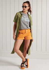 Superdry - VINTAGE LOGO - Print T-shirt - dark marl - 0