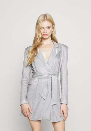 JUNO DRESS - Cocktail dress / Party dress - silver metallic