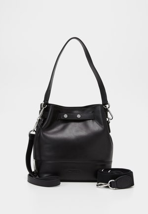 BUCKET BAG - Borsa a mano - black