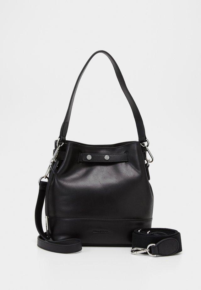 BUCKET BAG - Handbag - black