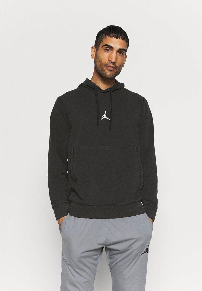 Jordan - AIR HOODIE - Bluza - black/white