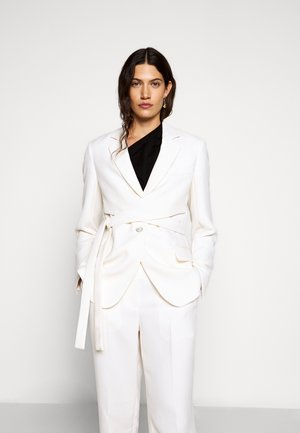 HEAVY CADY WRAP - Short coat - offwhite