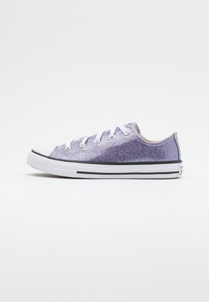 CHUCK TAYLOR ALL STAR GLITTER - Matalavartiset tennarit - thunder/white/black