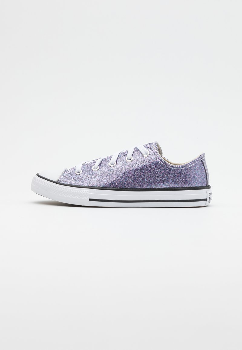 Converse - CHUCK TAYLOR ALL STAR GLITTER - Trainers - thunder/white/black