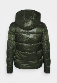 Calvin Klein Jeans Plus - SHINY SHORT PUFFER - Winter jacket - khaki - 1
