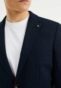 WE Fashion - SLIM FIT  - Sako - dark blue - 3