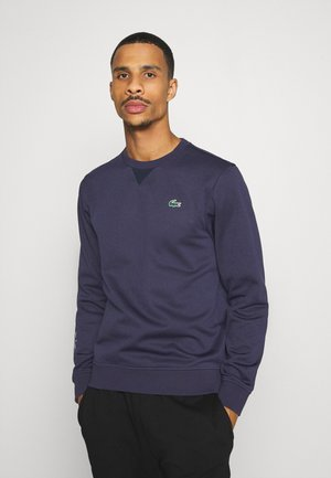 TECH - Sweater - touareg chine/navy blue
