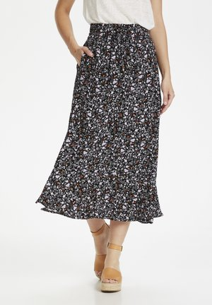 SUBIRA - Maxi skirt - liberty flower