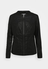 Soyaconcept - SC-AMALIE 4 - Faux leather jacket - black - 4